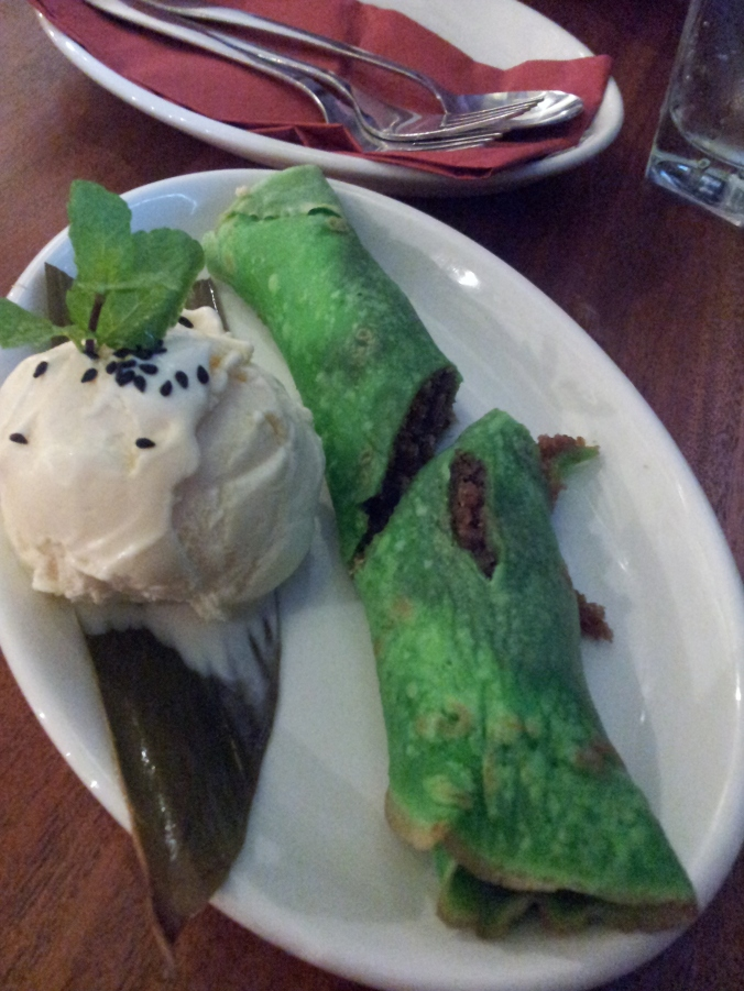 Bananatree Green Thai pancakes