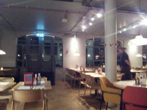 Canteen interior 2