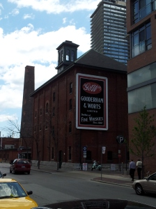 Toronto Buildings Distillery