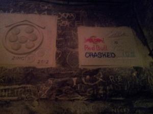 Red Bull Plaque