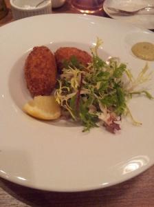 Restaurant Miro Shrimp croquettes