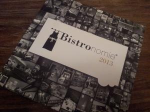 Bistronomie guide  2013