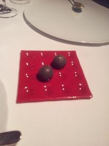 ECCR appetizer (3)Black truffle bombon
