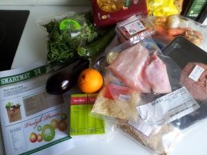 Smartmat ingredients for the week