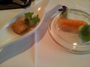 VLV 3 rice croquette & Salmon