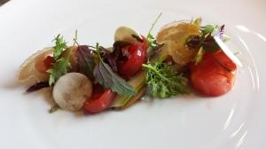 Foie gras  met crab