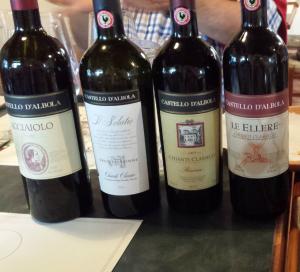 wines I liked at castello