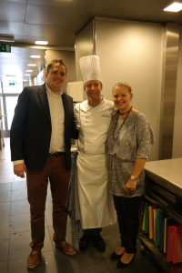 Me, Lionel Rigolet and Laurance Wynants