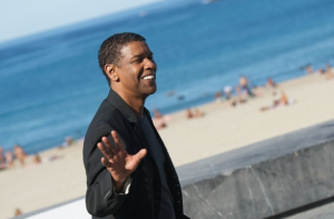 Denzel at Zurriola Beach by Zimbio