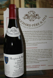 Hospices de Beaune wine Bouchard