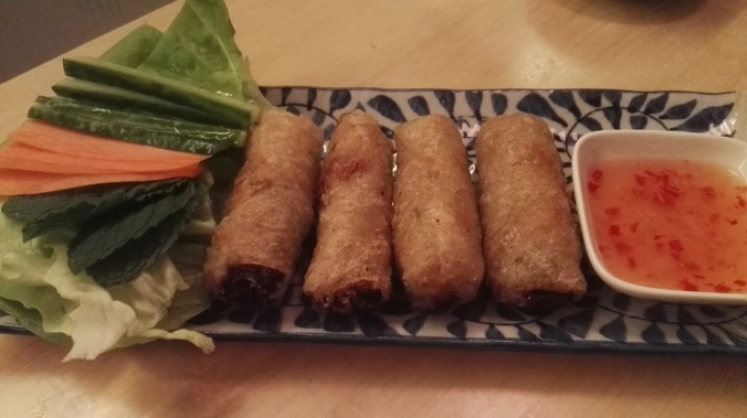 Deep fried Brasvar pork rolls