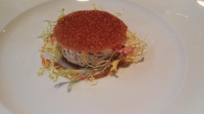 crab salade