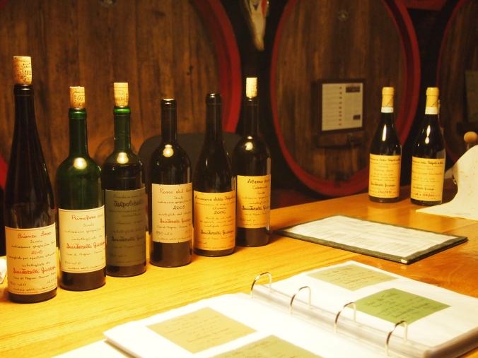 Quintarelli wine tasting
