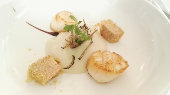 Scallop with Foie gras